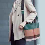 水桶包包女包春夏新款2020百搭大氣手提包時尚韓版真皮單肩斜挎包