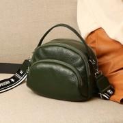 包包女圓形女士斜挎小包簡單大方2020新款韓版森系高級感單肩包女