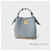 時尚小包包鏈條女包新款2020潮女士夏季水桶包真皮單肩斜挎手提包