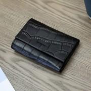 真皮錢包女2020新款韓版多功能女士折疊多卡位包簡約短款小錢包女