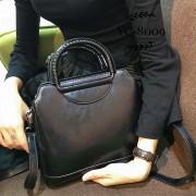 女包包2020新款單肩斜挎女包圓環手提女包歐美時尚百搭大容量女包