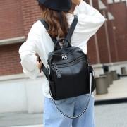 雙肩包女2020年新款包包百搭真皮女包手提包大氣軟皮大容量單肩包