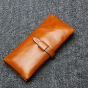 新款頭層牛皮長款女士錢包大容量錢包男士手拿包零錢包
