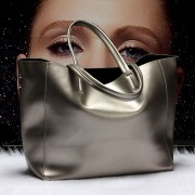 新品歐美時尚女包女牛皮包包大容量手提包