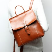 韓版油蠟牛皮女士雙肩背包多功能時尚潮流女包雙肩包背包批發