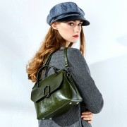 包包女新款女包歐美潮流復古單肩包手提包女士斜挎包