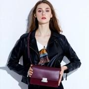 包包女新款女包鎖扣時尚箱包單肩包女士單肩包