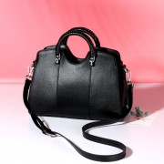 新款潮流時尚貝殼包手提包百搭大氣女士大容量單肩斜挎包女包