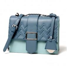 包包女新款女包單肩斜挎撞色包包小方包多用潮流單肩包
