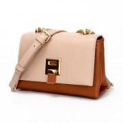 女包新款時尚潮流百搭小方包單肩斜挎簡約鏈條包包