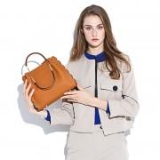 新款潮女包歐美時尚大容量牛皮托特包手提包單肩