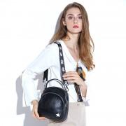 雙肩包女 學生旅行包新款潮女背包歐美時尚頭層牛皮女包