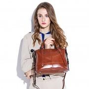 新款女士歐美女包牛皮包包單肩包斜跨包女包批發