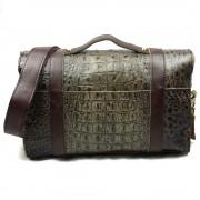新款真牛皮女包 女士時尚復古郵差包 手提單肩斜挎潮包包