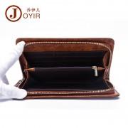 廠家批發 男士真皮錢包 商務光面手拿包 簡單大方油蠟皮錢包/手包
