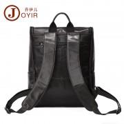 歐美時尚新款真皮男包 韓版休閑牛皮男士雙肩包背包 大容量電腦包