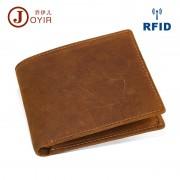 新款真皮男士錢包 防RFID盜刷錢夾 時尚休閑薄款短款銀包手包
