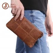 新款韓版時尚真皮女包復古休閑中性手包大牛皮女士手拿包長款錢包