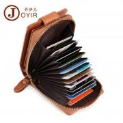 新款真皮女士卡包卡夾商務時尚多功能女士錢包牛皮防磁多卡位女包