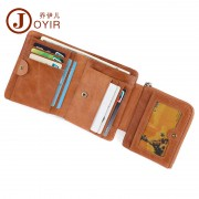 新品防磁真皮男士錢包商務休閑大容量手拿包短款零錢包男包批發