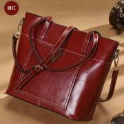 女士包包新款真皮手工袋女包原創休閑托特包大容量手提單肩包
