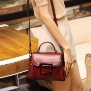 包包女新款潮真皮時尚 簡約斜挎女包 小方包 女士手袋批發