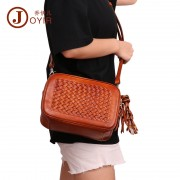新款時尚真皮女包 歐美復古手提包 單肩包 頭層牛皮女士包包