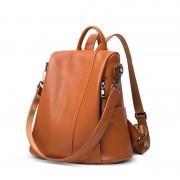 新款包包女 百搭雙肩包  頭層牛皮雙肩包包包女