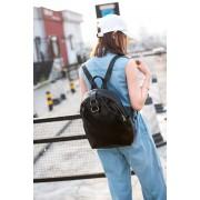 女士雙肩包 真皮 韓版個性潮流旅行牛皮包 精品雙肩背包 批發