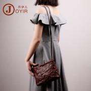 時尚潮流女包 單肩包 包包女新款 斜挎包 復古手工 真皮包包