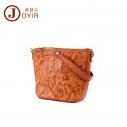 包包女新款 時尚潮流單肩包 手提包 手工復古真皮女包 小方包