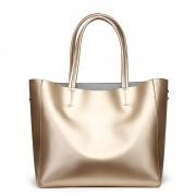 女包工廠新品歐美時尚真皮女包牛皮單肩手提包大容量女士購物
