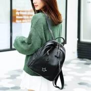 新款頭層牛皮雙肩包時尚休閒真皮女背包頭層皮電腦包女手提包