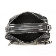 歐美新款頭層牛皮女包時尚波士頓真皮手提斜挎包包簡約單肩包批發