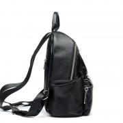 頭層牛皮包包潮牌雙肩包女式新款真皮簡約背包休閒女包