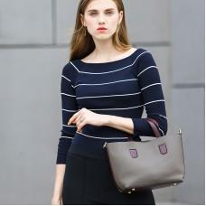 廠家批發真皮女包歐美時尚頭層牛皮子母單肩真皮女包