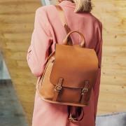 新款雙肩包女包真皮大容量百搭韓版休閒旅行包女士兩用背包