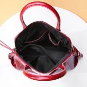 新款油蠟牛皮女包手提包休閒簡約復古大氣真皮大容量女士包