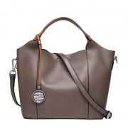 新款牛皮女包歐美風時尚牛皮子母包手提包女士單肩斜挎包