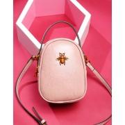新款韓版時尚手提包真皮女包小蜜蜂單肩包洋氣包包 潮包