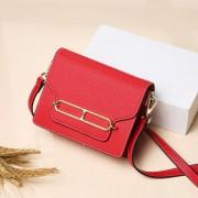 牛皮女包新款包包十字紋時尚韓版潮百搭單肩斜挎小方包