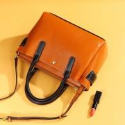 包包女歐美新款大容量單肩真皮女包托特包女士手提斜跨包