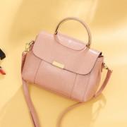新款歐美時尚女包簡約手提包大包單肩斜跨軟皮包