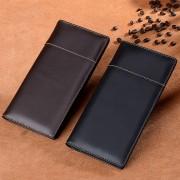 新款錢包男士真皮長款多卡位頭層牛皮錢夾大容量超薄商務皮夾