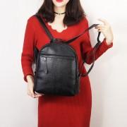 真皮女包時尚頭層牛皮荔枝紋女式雙肩包旅行背包