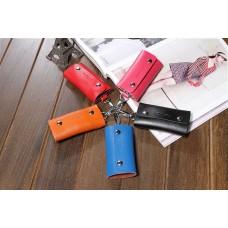 新款多扣鑰匙包 真皮牛皮鑰匙包 簡約時尚鑰匙包 批發 2PJ1