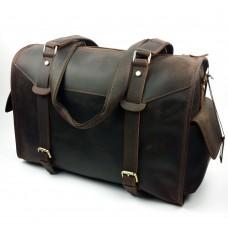 喬伊兒歐美潮流瘋馬皮旅行包 真皮男包 男士單肩斜挎行李包批發