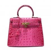 新款紋凱莉包同款真皮女包歐美時尚牛皮單肩手提包包