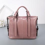 新款真皮女包油蠟牛皮單肩斜跨包時尚同款手提包大容量手拎包