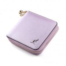 女短款韓版女生零錢包拉時尚拉鏈錢包牛皮卡包